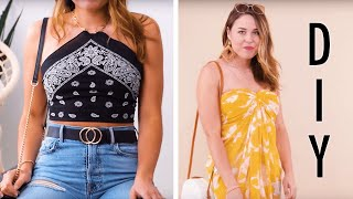 10 DIY Scarf Outfit Hacks! | Quick and Creative Scarf Outfit Ideas by Blossom