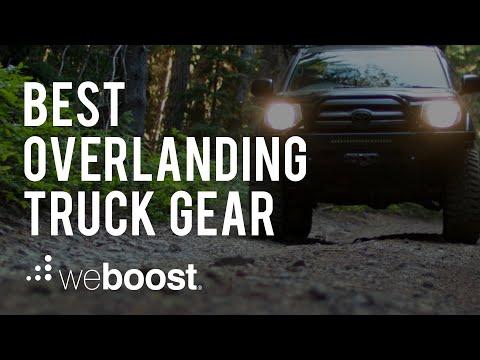 Best Overlanding Truck Gear | weBoost