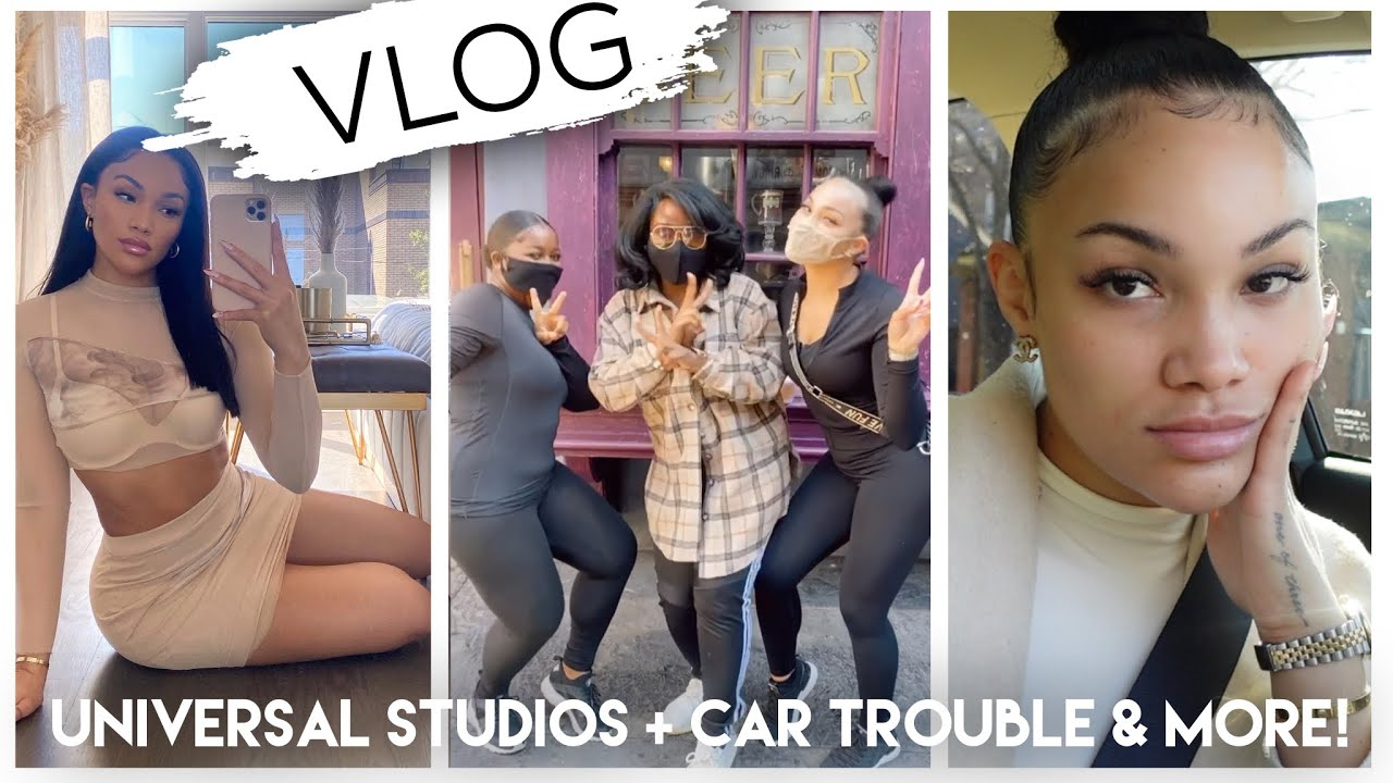 CHAOTIC WEEKLY VLOG | UNIVERSAL W/ MY BESTIES + ADULT STUFF + ME COMPLAINING :/ | ALLYIAHSFACE VLOG