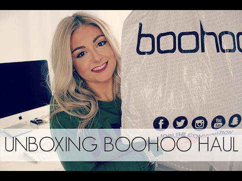 Try On Unboxing BooHoo Haul | 2017