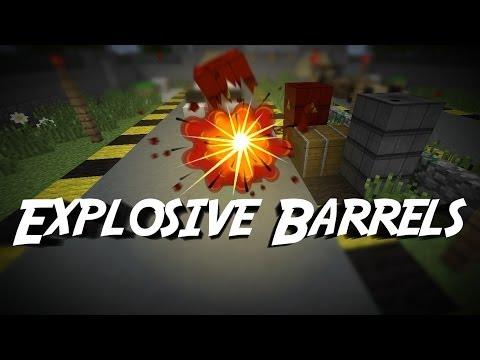 Explosive Barrels in Minecraft [1.8]