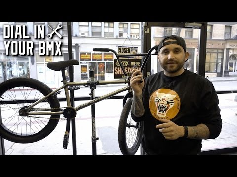 HOW TO GET YOUR BMX BIKE DIALED!