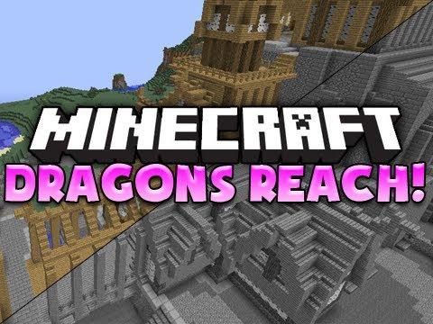 Minecraft Build: Dragons Reach | Feat. PotatoOrgy [Skyrim Build]