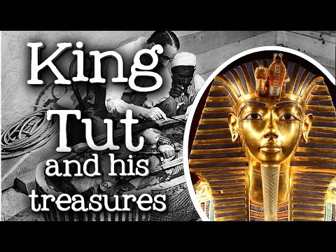 King Tut and His Treasures for Kids: Biography of Tutankhamun, Discovery of his Tomb - FreeSchool