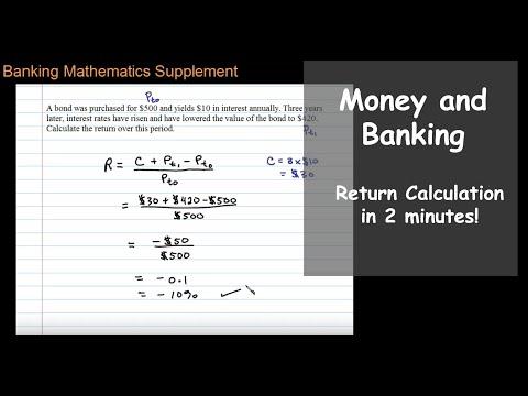 Calculating Return