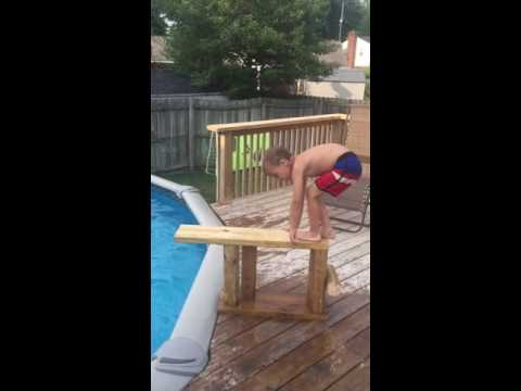Code 42 and Code 101 homemade diving board 2016