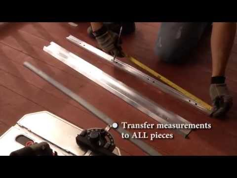 How to Cut a Door Threshold