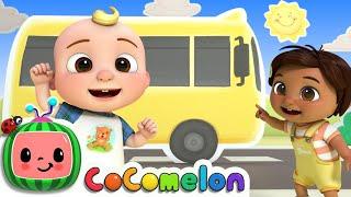 Wheels On The Bus Dance | CoComelon Nursery Rhymes \u0026 Kids Songs