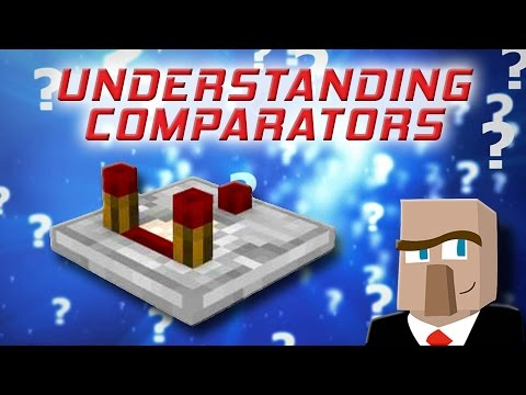 REDSTONE COMPARATORS: Understand Them in Under 7 Minutes!