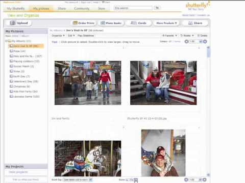 How to view and edit your pictures in Shutterfly