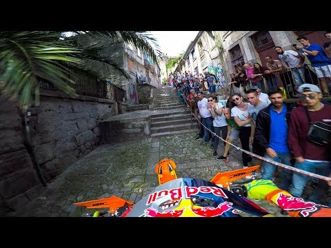 GoPro: Enduro MX Racing the Back Alleys of Portugal with Jonny Walker - Extreme XL Lagares