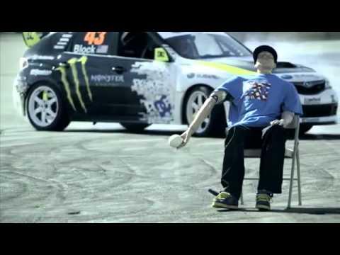 Drift Ken Block Subaru Impreza WRX sti
