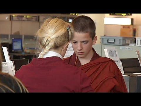 Belgian boy gets green light to become Tibetan monk