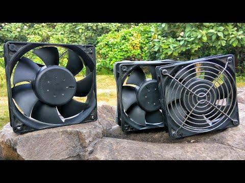 2 amazing ideas   grate ideas with PC fans   computer fans.