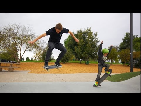 LANDING YOUR FIRST OLLIE!