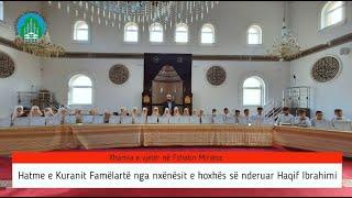 Hamte e Kuranit   Xhamia në fshatin Miratoc, Preshevë 2020