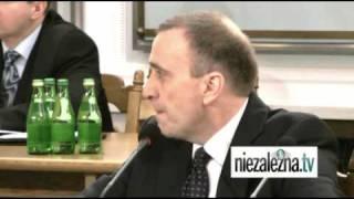 Grzegorz Schetyna przed komisją hazardową - najciekawsze fragmenty przesłuchania