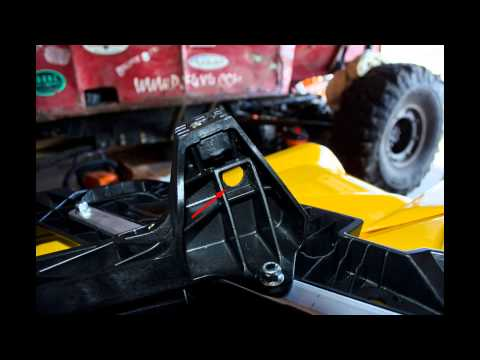 Can-Am G2 Outlander 1000XT ATV Front & Rear Rack Removal