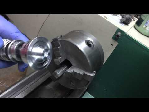 machining a blade plug for the Luke V2 Lightsaber