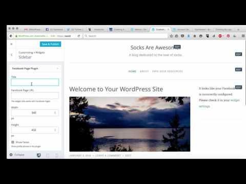 How to Add Widgets to WordPress 2016