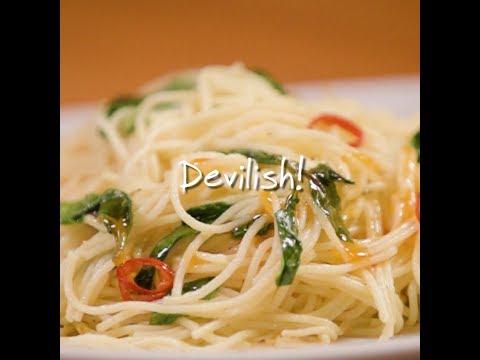 Devilish Angel Hair Pasta