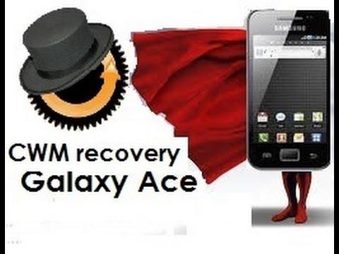 [Tutorial] Como Instalar o desinstalar CWM recovery en un Samsung Galaxy Ace