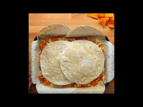 WoOOow How  to cook Sheet Pan Chicken Fajita Crunchwrap