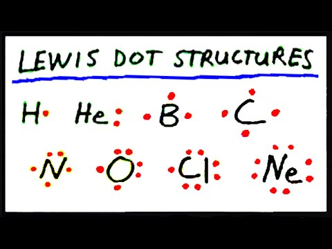 Lewis Dot Structures:  Part 1