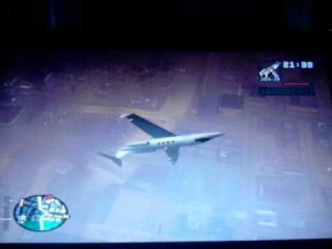 GTA SA Shamal plane flight around Los Santos