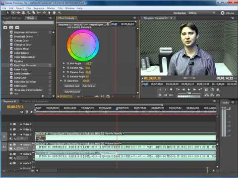 Brightness, Contrast e RGB Curves em Vídeos com Premiere Pro