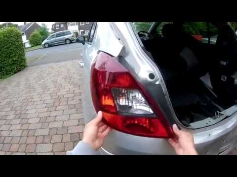 How to Remove a Taillight from Vauxhall Corsa D 06-14 | DIY