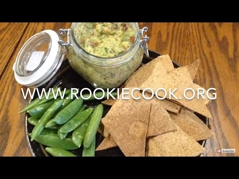 Low Calorie Guacamole and Tortilla Chips