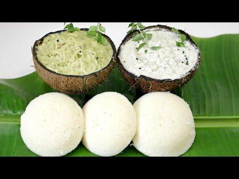Instant SUJI IDLI With 2 Chutney   South Indian Recipe Breakfast & Evening Snacks   CookWithNisha
