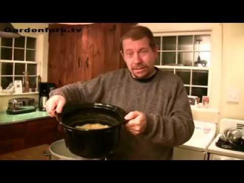Eric's Crock Pot Pea Soup Recipe slow cooker GardenFork