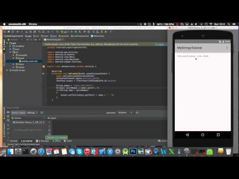 Working with Strings - Java - Android Studio