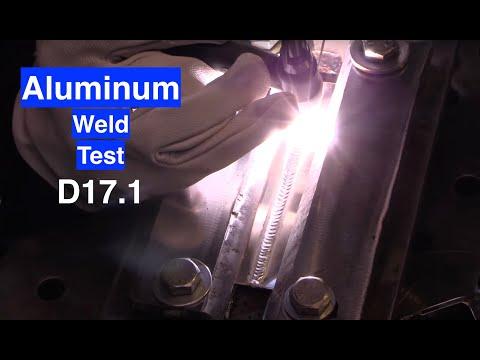 TIG Welding Aluminum Cleaned vs Not Cleaned