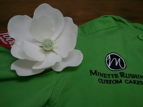 How to Make a Gumpaste Magnolia (Part 1 of 3)