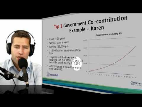 2011 Top Ten Tax Tip 01 Government Co-Contribution