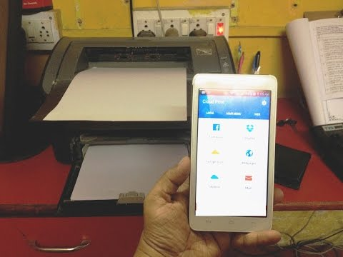 How to Print from Any Printer in Android Phone  (No Wi-fi Printer)
