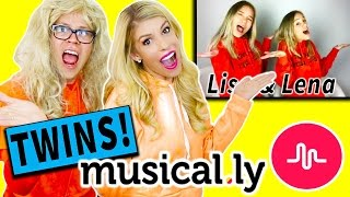 RECREATING CRINGY TWIN MUSICAL.LYS! ( Lisa & Lena, Dobre Twins, Brooklyn & Bailey & more!)