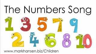 Counting Songs 1-20 for Children Numbers to Song Kids Kindergarten ...