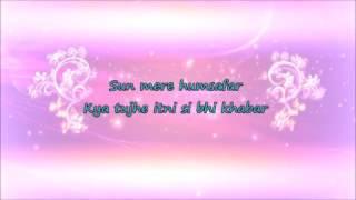 Humsafar-Badrinath Ki Dulhania-Lyrics