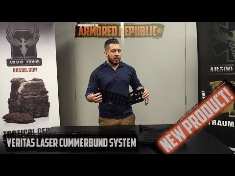 AR500 Armor® Veritas Laser Cummerbund System