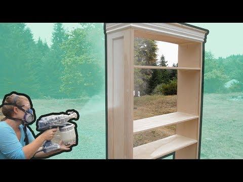 Bookshelf Build Pt 2 | Painting & Backer Board