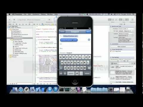 Xcode - In App Email with Pictures -  Tutorial  - Objective C