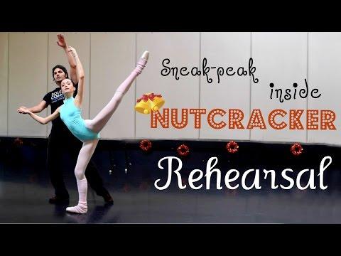 Sneak-Peek Inside Nutcracker Rehearsal! (Sugarplum & Arabian)