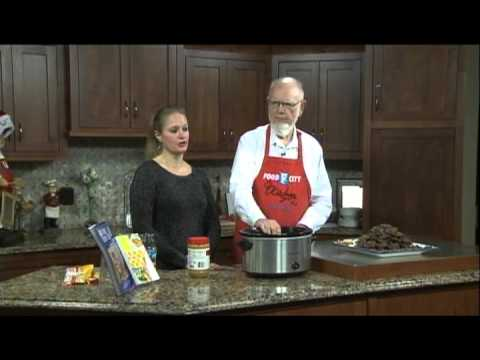 Slow Cookin' Peanut Clusters with Chef Walter