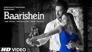 Baarishein Mp3  Song Atif Aslam T-Series 2019