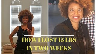 How I Lost 15 Pounds In 2 Weeks/Fasting Focus Lifestyle /Self Care Series