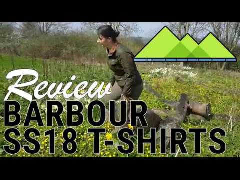 Barbour T-Shirt Range SS18 @ e-OUTDOOR